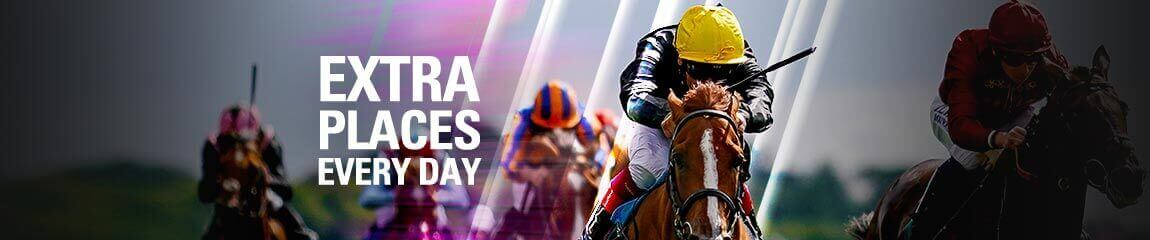 Today's Extra Place Races